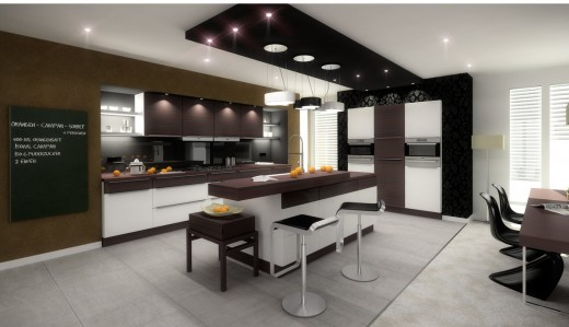 20 best modern kitchen interior design ideas for Interior decoration of kitchen pictures