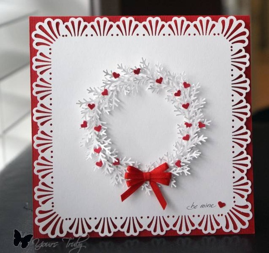 30 great ideas for handmade cards red and white handmade card m4hsunfo