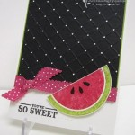 mellon handmade card
