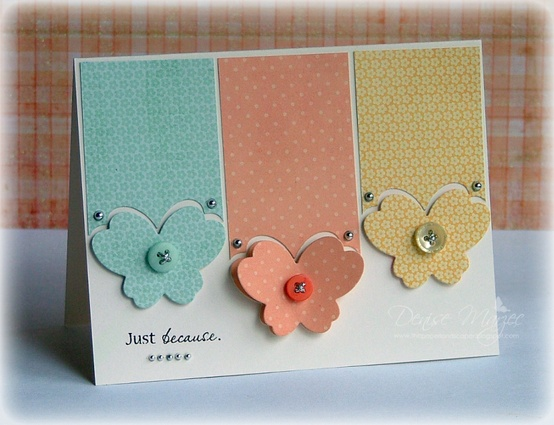 30 great ideas for handmade cards butterfly handmade card m4hsunfo