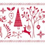 best surface pattern designs for Christmas
