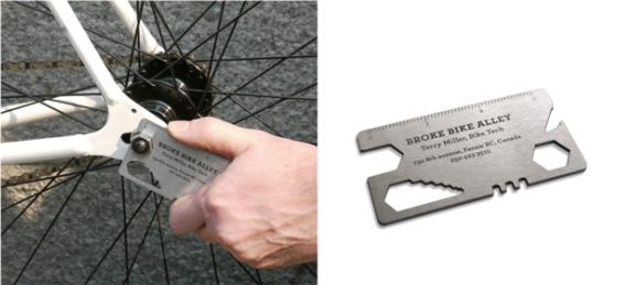 Wallet Sized Bike Tool