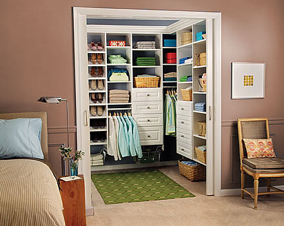 Home Walk-in Closet Interior Design Tips and Ideas