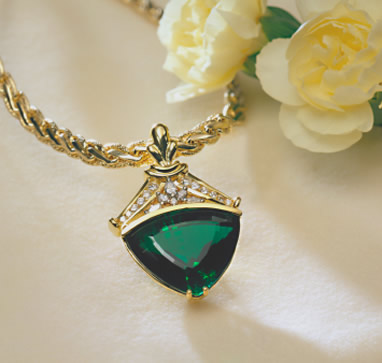 green emerald jewelry