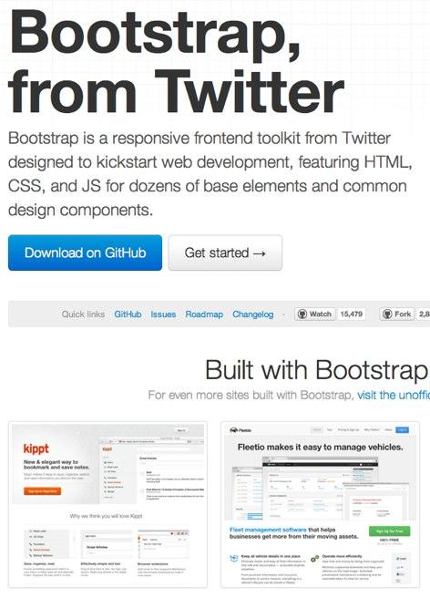 Bootstrap-from-Twitter