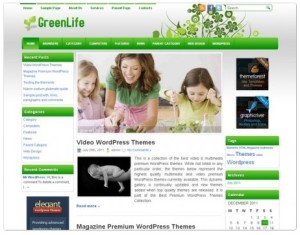 Green Life WordPress Themes