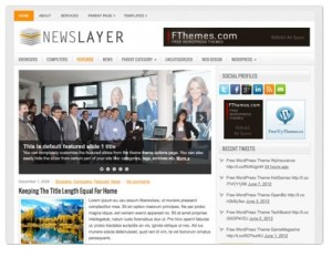 News Layer - News Magazine Theme
