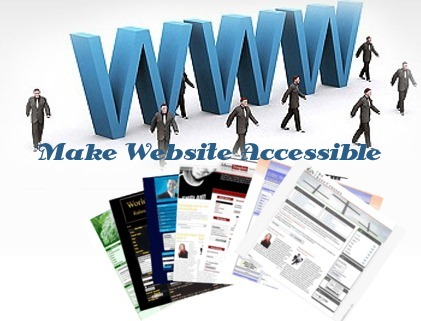 design tips to make accessible websites
