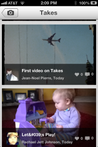 Download 'Takes' App to Convert Photos into Videos