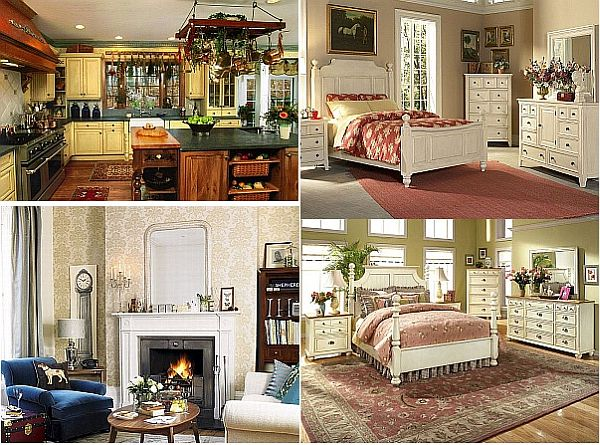 Useful tips to decorate your home in a lovely vintage - Retro home design ...