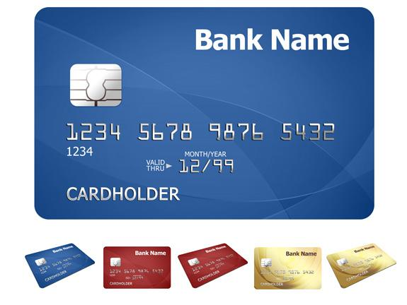 credit-card color
