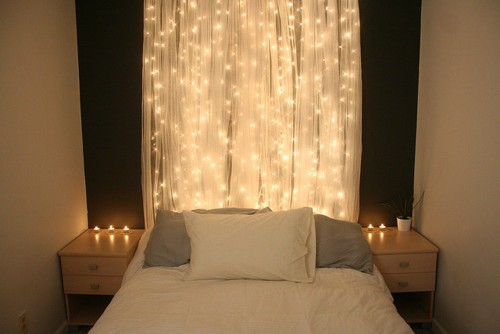 rope lights in bedrooms