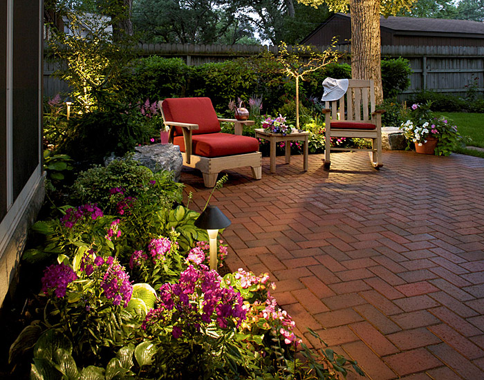 patio designs with flagstone pics