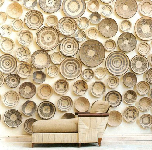 Baskets As Mod Wall Art
