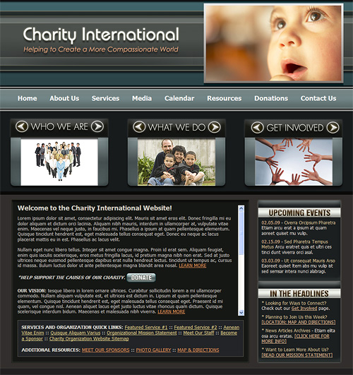 charity-website
