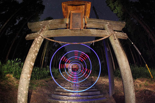 Awesome Light Painting Art