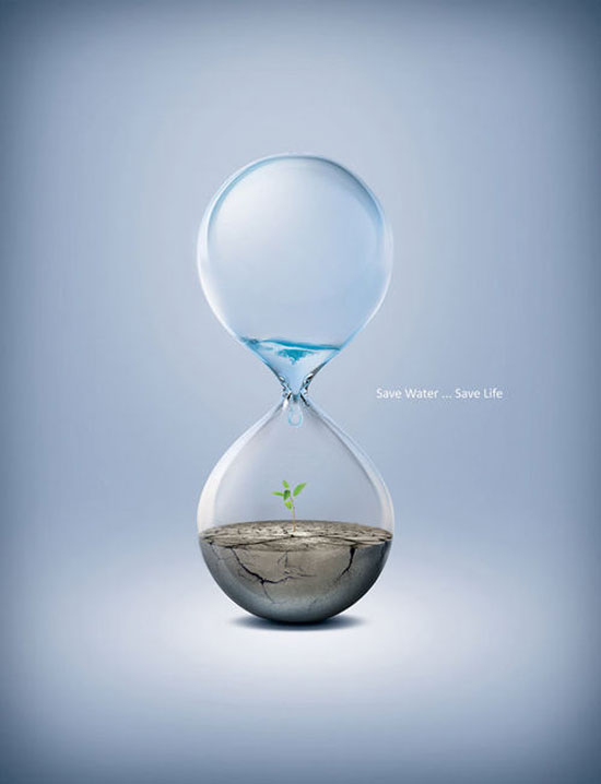 Save Water - Creative Ad Designs