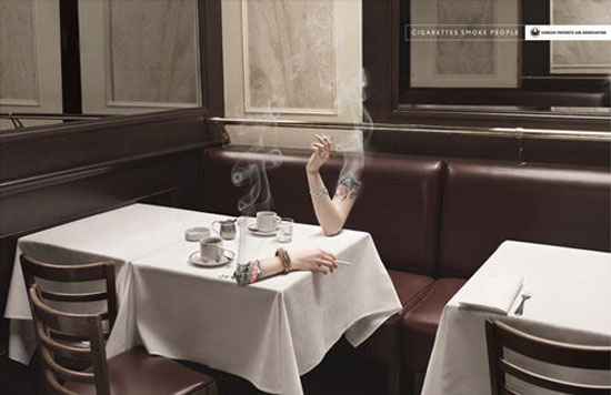 Smoking Arm Advertising