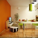lime-green-and-orange-kitchen