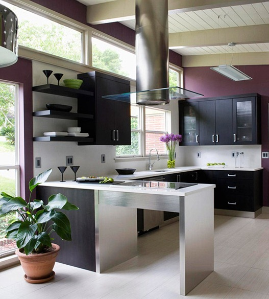 Plum Kitchen Paint: Top 5 Kitchen Colour Schemes