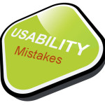 common usability mistakes