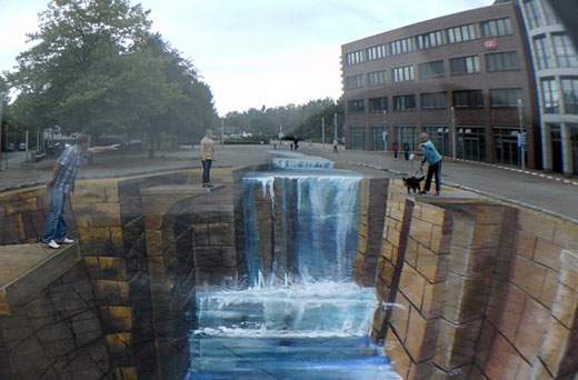 Awesome 3D Street Painting