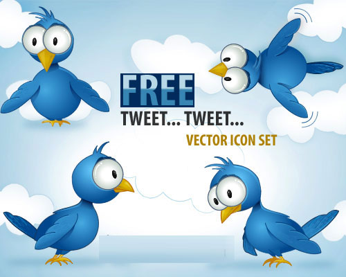 It's-Twitter-Time!-Free-vec