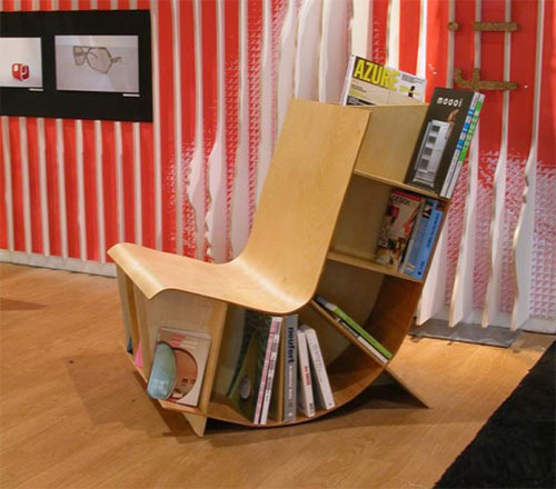 Simple-Curved-Chair-Design