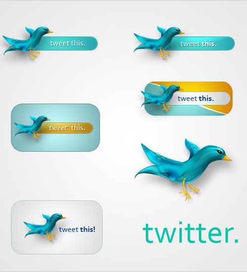 Twitter-Icons-PSD