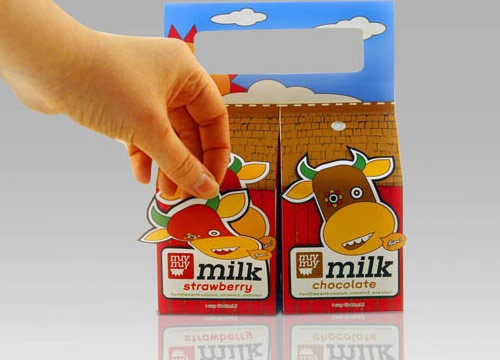 Very Cute Milk Package