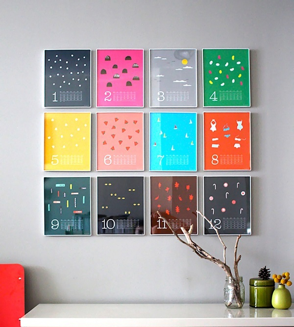 Calendar Wall Art : Different factors that influence the decision of wall art