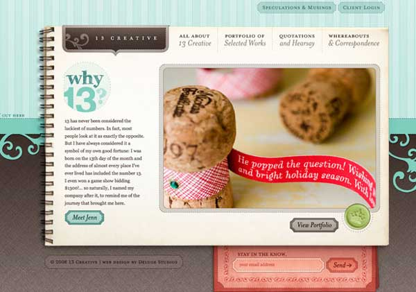 13creative - Art Web Site Designs