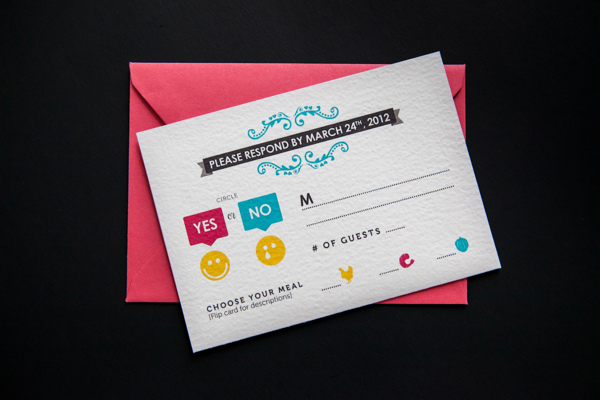 CMYK-Themed Invites