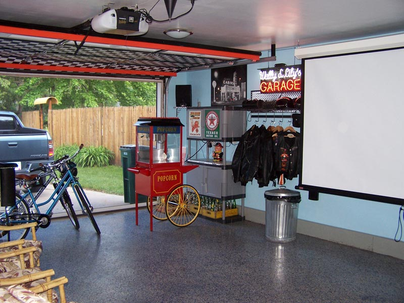 Creative Ways to Use Your Garage as theatre