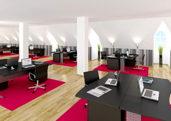 Welcome Employees And Visitors Alike With Clever Office Interior
