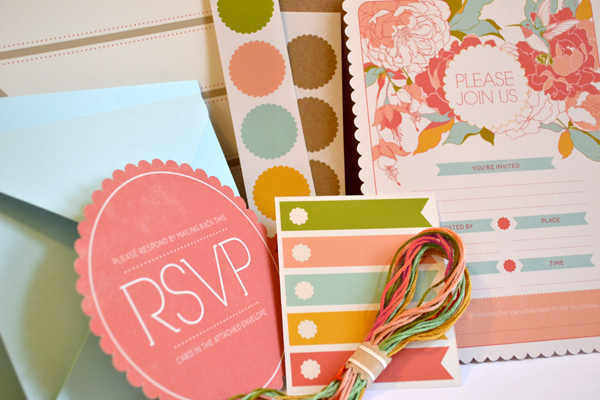 Pink RSVP - Creative Invitation Card Designs
