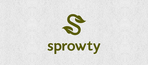 Sprowty - Beautiful Single Letter Logo Designs