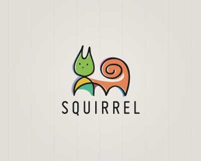 Squirrel Logo - Inspiring Animal Logo Designs