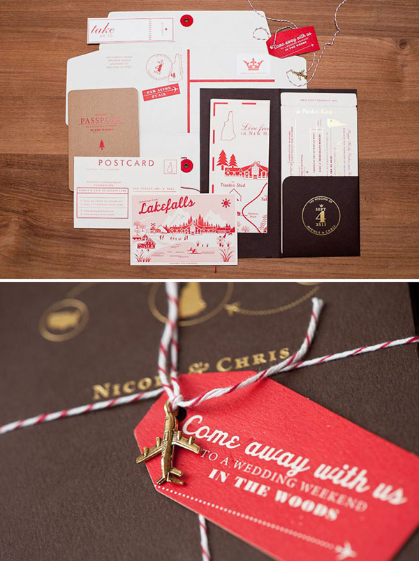 Travel-Inspired Invitations