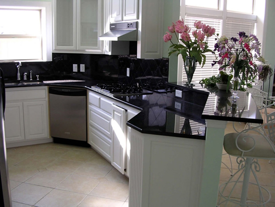 Black Granite Countertops : Most popular granite colors used for countertops