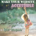 Usability Tips for Web Designers