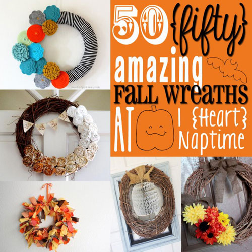 Amazing Fall Wreaths - Halloween Crafts