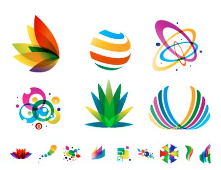 Colorful Vector Logos - Transparent Logo Designs
