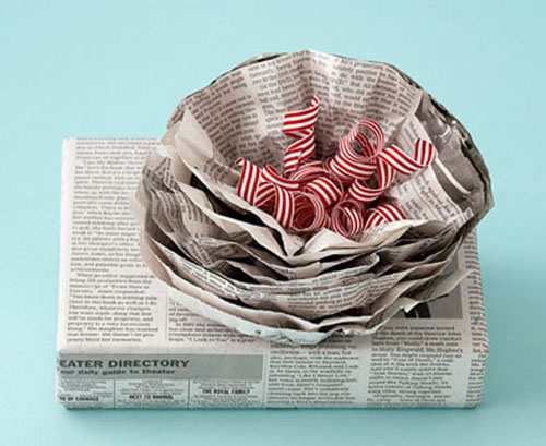Newspaper-Flower
