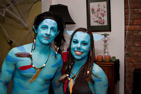Our Epic Avatar Costumes  sc 1 st  Designer Mag & 40+ Awesome Halloween Costume Ideas - Designer Mag