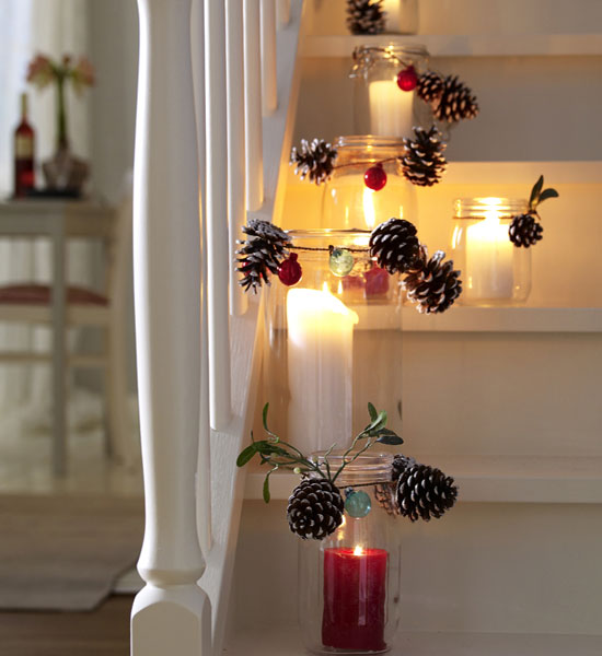 candle-decoration-9 - Winter Decoration with Candles