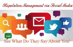 Reputation Management Using Social Media; It Really Works!