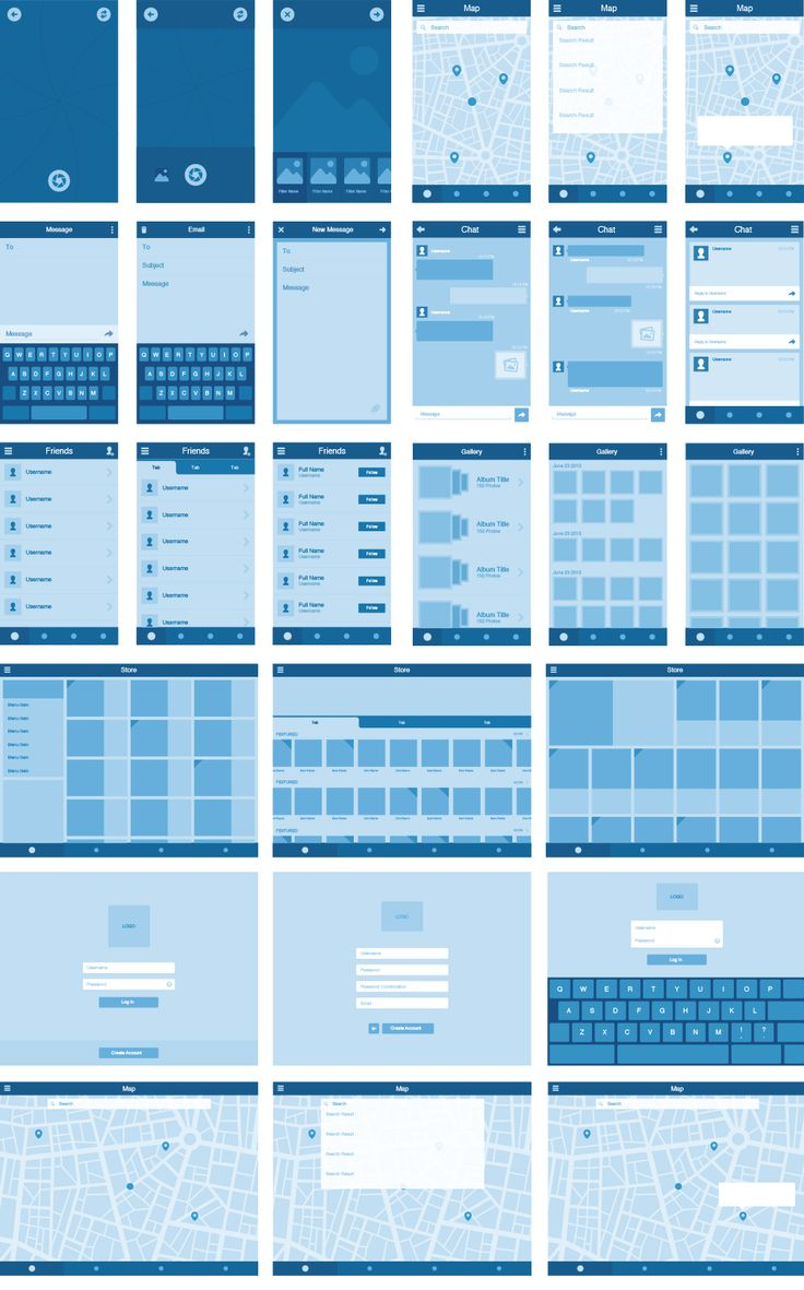 Top UI Wireframe Kits for Designers [Free] - Designer Mag