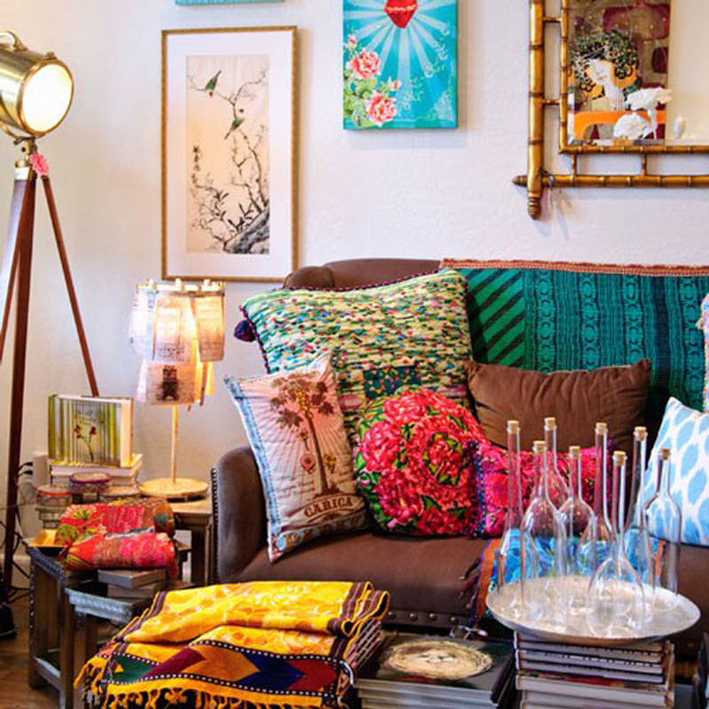 Interior design trends to watch in 2014 designer mag for Bohemian chic living room makeover