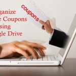 Organize Online Coupons